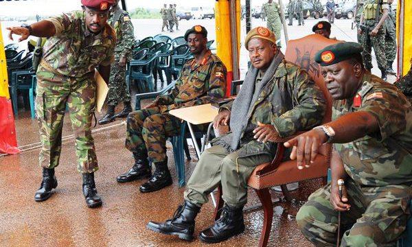 Uburiganya bwa Museveni