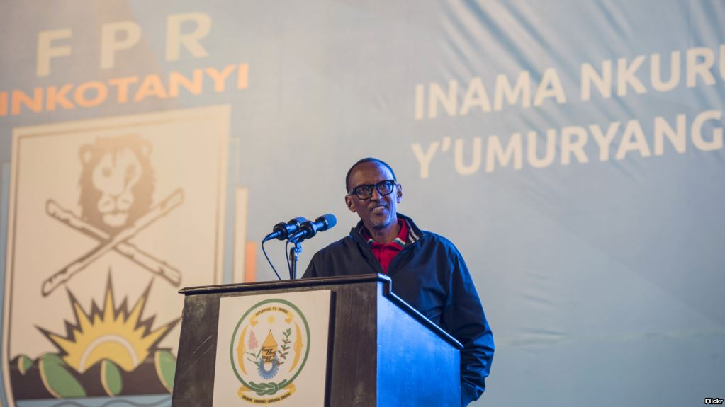 Kuvuga umunyapolitike Shima Diane Rwigara mu nama ya FPR,nikimenyetso cyubwoba gikomeye kuri FPR!