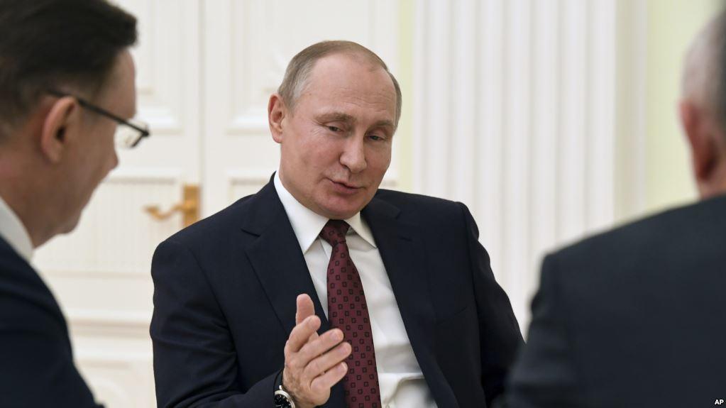 Perezida Trump Yakeje Putin ku Ntsinzi