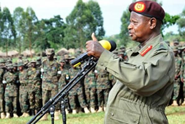 Museveni atsindwa amatora atangiza intambara!!!
