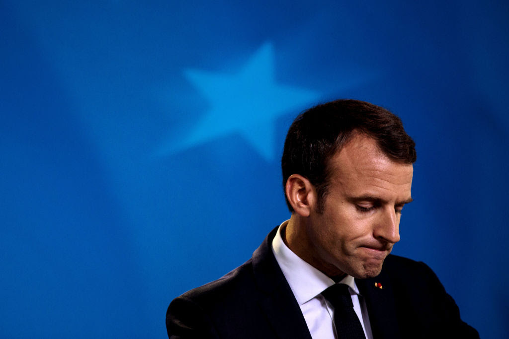 France: The Rise and Fall of Emmanuel Macron by Guy Millière