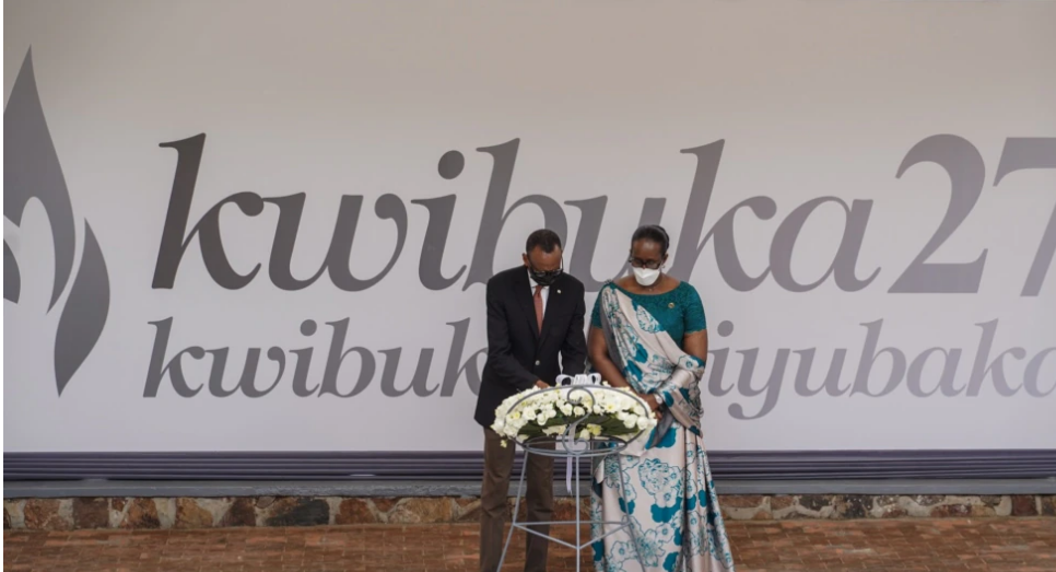 Perezida Kagame Yatangaje ko Azahangana n'Abapfobya Amateka y'u Rwanda